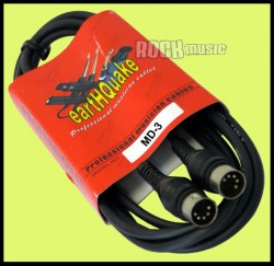 Cable de midi Earthquake MD-3