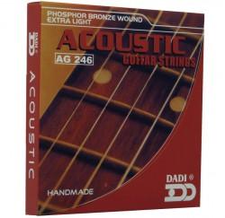 Cuerdas guitarra acústica Dadi AG246