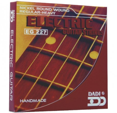 Cuerdas guitarra eléctrica Dadi EG227 envio gratis