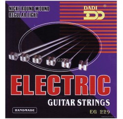 Cuerdas guitarra eléctrica Dadi EG229