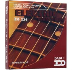 Cuerdas guitarra eléctrica Dadi EG226