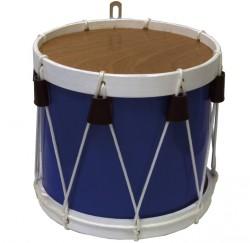 "Tambor barril tamborrada Ballester 10"" azul-blanco"