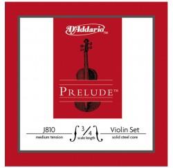 Cuerdas violin D'addario J810 3/4