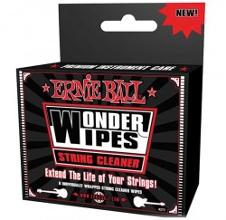 Limpiador Ernie Ball Wonder Wipes String Cleaner