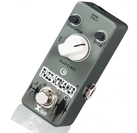Pedal Efectos Xvive V4 Fuzz Screamer envio gratis
