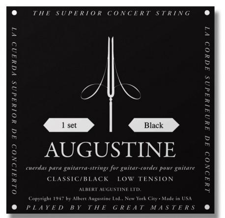 Cuerdas de guitarra española Augustine black