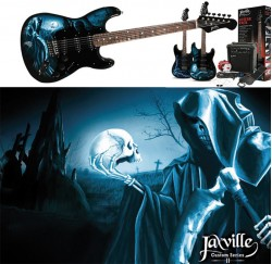 Pack guitarra electrica Jaxville ST1HDPK envio gratis