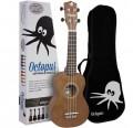 Ukelele soprano Octopus UK-205 BR color marrón envio gratis