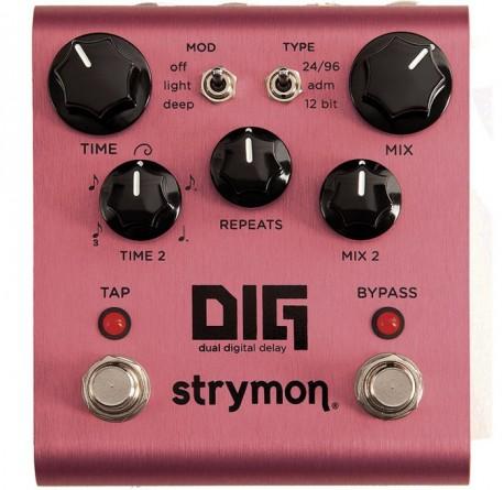 Pedal de guitarra Strymon Dig delay envio gratis