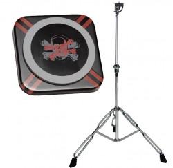 Pack pad de practicas bateria Grafix GXPAD-D8