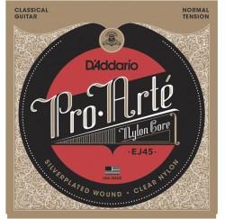 Cuerdas de guitarra clasica D'Addario EJ45 envío gratis