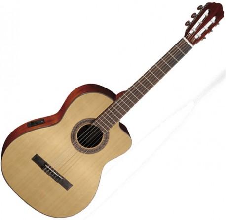 Guitarra electro clasica Cort AC120CE OP envio gratis