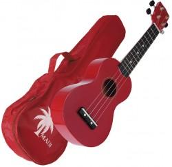 Ukelele Maui MUK10-RD soprano rojo con funda envío gratis