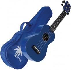 Ukelele Maui MUK10-BL soprano azul con funda envío gratis