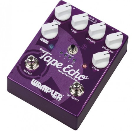 Pedal de guitarra Wampler Faux Tape Echo Delay V2 envio gratis