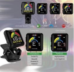 Afinador cromatico Aroma AT-102 envio gratis