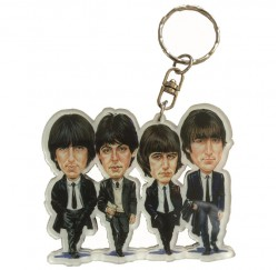 Llavero caricatura Beatles ACK-0397 metacrilato regalo musical envío gratis