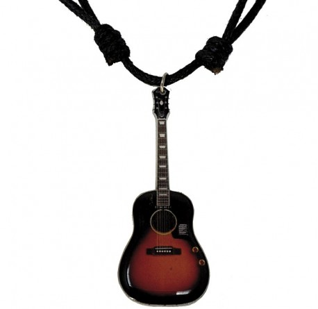 Collar guitarra miniatura Legends MNK-0165 regalo musical envío gratis correos