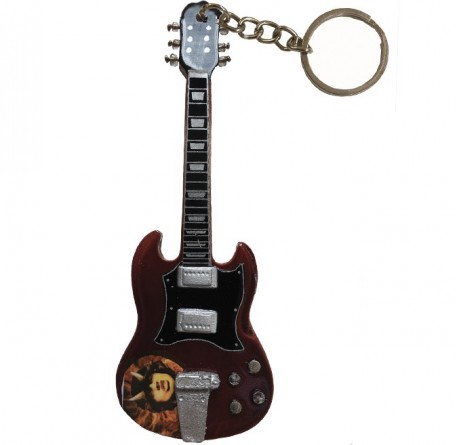 Llavero guitarra eléctrica miniatura Legend EGK-0597 envio gratis