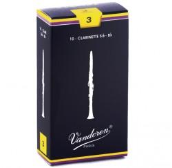 Caja 10 Cañas para clarinete Vandoren CR103 en Sib grosor 3 envío gratis