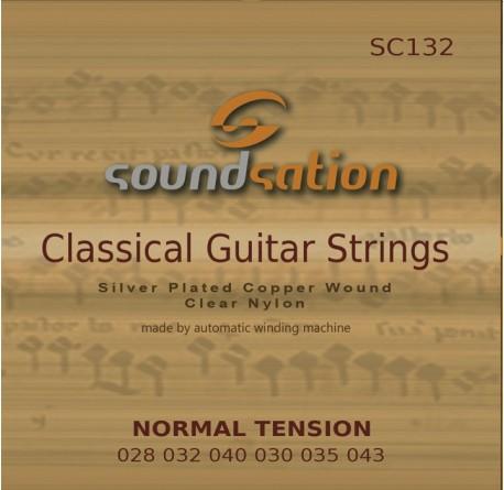 3 packs Cuerdas guitarra clásica Soundsation SC132 envio gratis