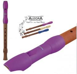 Flauta dulce Hohner ALEGRA boquilla rosa