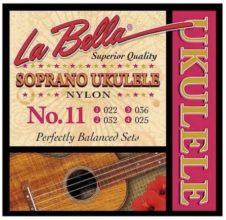 Cuerdas de ukelele La Bella No.11 soprano envio gratis