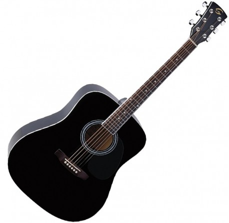 Guitarra acustica Soundsation Yellowstone DN-BK envío gratis