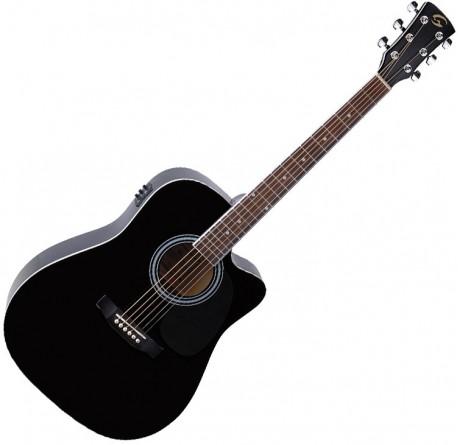 Guitarra electroacustica Soundsation Yellowstone DNCE-BK envio gratis