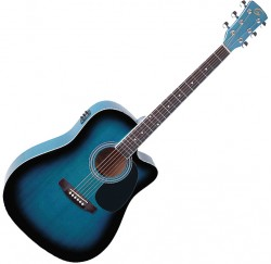 Guitarra electroacustica Soundsation Yellowstone DNCE-BLS envio gratis