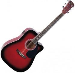 Guitarra electroacustica Soundsation Yellowstone DNCE-RDS envio gratis