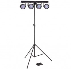 Pack de iluminación Soundsation 4 Led Kit Party