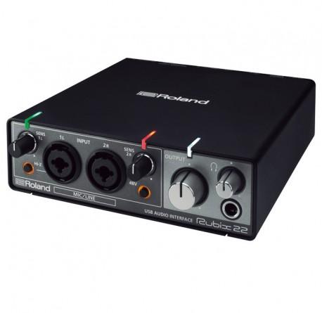 Interface de audio Roland Rubix 22 envío gratis