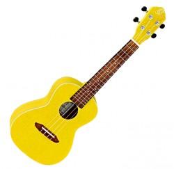 Ukelele concierto Ortega RUSUN color amarillo envío gratis