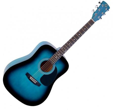 Guitarra acustica Soundsation Yosemite DN-BLS envío gratis