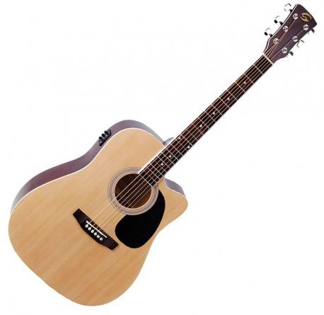 Guitarra electroacustica Soundsation Yosemite DNCE-NT envío gratis