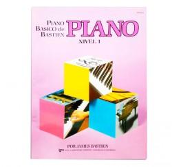 """Libro """"Piano Básico, nivel 1"""" de Bastien envío gratuito"""