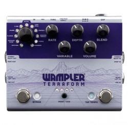 Pedal de guitarra modulador Wampler Terraform modulation envío gratis