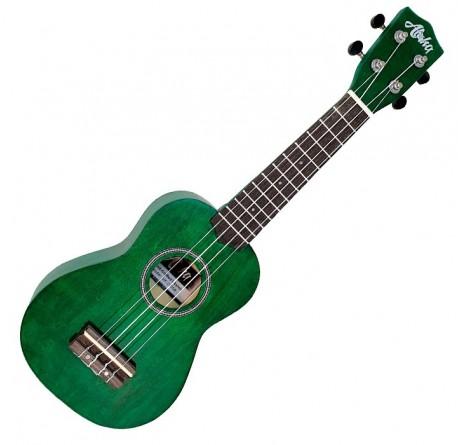 Ukelele Aloha UK-250 GR soprano color verde envío gratis