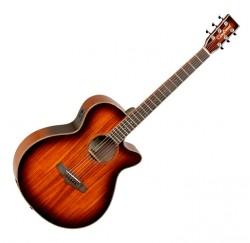 Guitarra electroacústica Tanglewood TW4KOA Super Folk Cutaway envío gratis