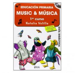 "Metodo ""Music & Música 1"" Profesor de Natalia Velilla envío gratis"