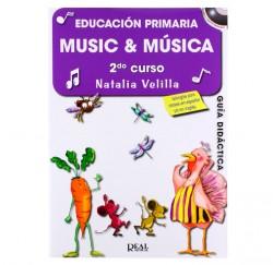 "Metodo ""Music & Música 2"" Profesor de Natalia Velilla envío gratis"