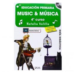 "Metodo ""Music & Música 4"" Profesor de Natalia Velilla envío gratis"