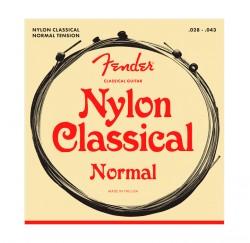 Cuerdas de guitarra clásica española Fender nylon 28-43 envío gratis