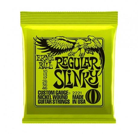 Cuerdas guitarra electrica Ernie Ball 2221 Regular Slinky envío gratis