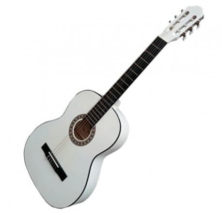 Guitarra española clasica Rocio 10 blanca envío gratis