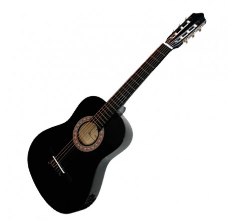 Guitarra española clasica Rocio 10 negra envío gratis