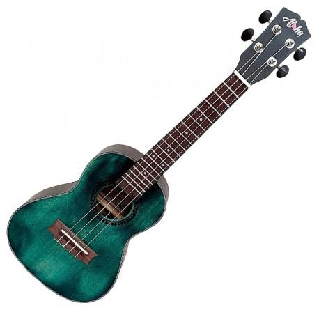 Ukelele Aloha SK-2432-BL concerto color mineral blue vintage envío gratis
