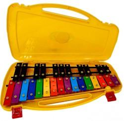 Carrillon metalofono ROCKSTAR AX27N cromático 27 teclas colores envío gratis