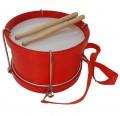 Tambor infantil de madera Rockstar SMD103RD color rojo envío gratis